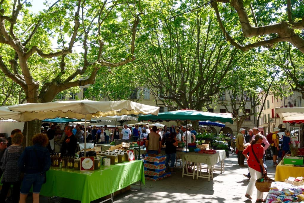 Market Day in Uzès