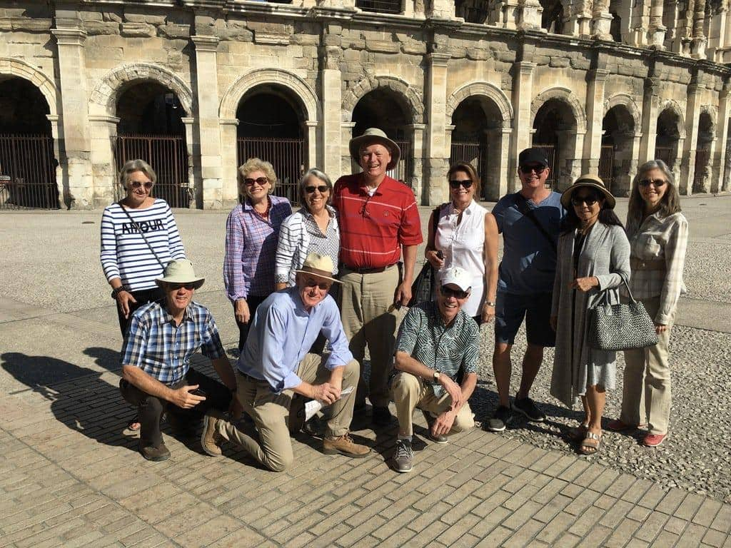 Provence Group at Nimes