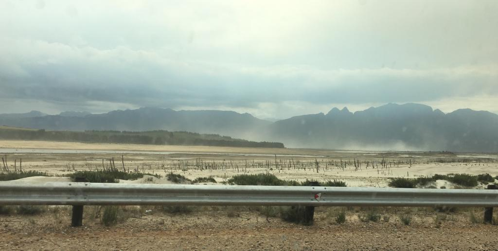 Dam Sandstorm